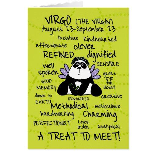 zodiac word cards - virgo