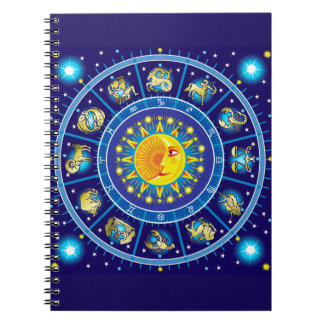 Zodiacs Spiral Notebook