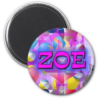 ZOE 2 INCH ROUND MAGNET