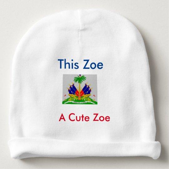 Zoe Baby Beanie