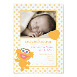 Zoe Birth Announcement