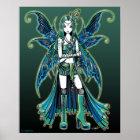 """Zoe"" Celestial Star Fairy Art Posters"