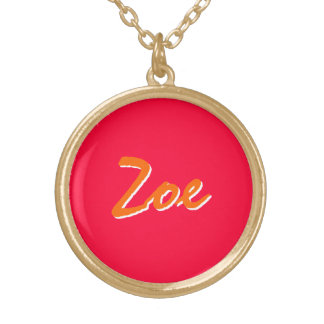 Zoe necklaces