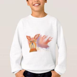 Zoe Yellow Abstract Sweatshirt