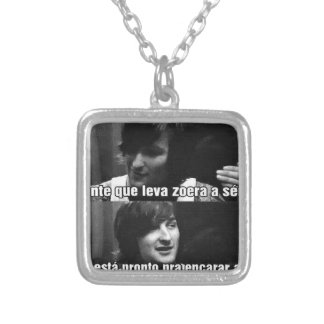 zoeiras silver plated necklace