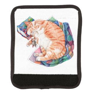 Zoe's Winter Nap Luggage Handle Wrap