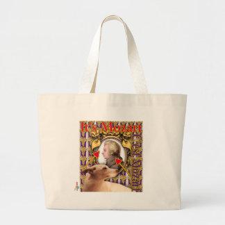 ZoeSPEAK - Mozart Large Tote Bag