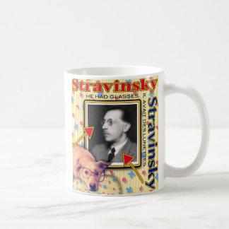 ZoeSPEAK - Stravinsky - He had glasses. Coffee Mug