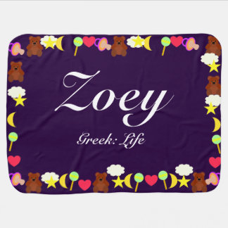 Zoey Baby Blanket Template