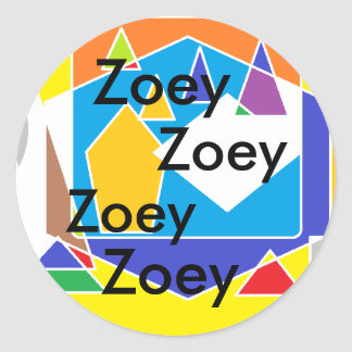 , Zoey Stickers