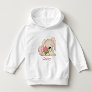 Zoey's Personalized Bunny Hoodie