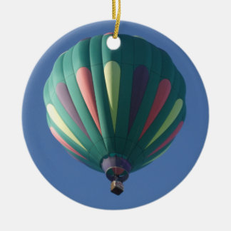 Zollie Hot Air Balloon Ceramic Ornament