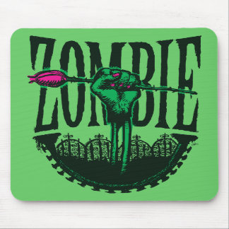 Zombie—A Rose (Comix Ink) Mouse Pad