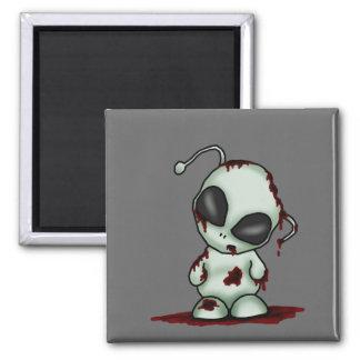 Zombie Alien Magnet