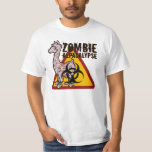 Zombie Alpacalypse Tee Shirts