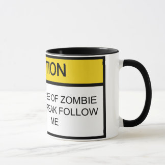Zombie Annihilation Program Mug