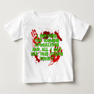 Zombie Apoc Stupid Tshirt
