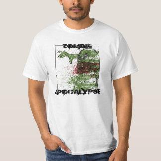 Zombie apocalypse art shirt