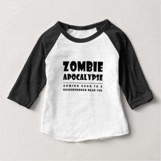 Zombie apocalypse baby T-Shirt