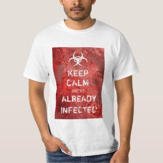 Zombie Apocalypse Keep Calm Halloween T-Shirt