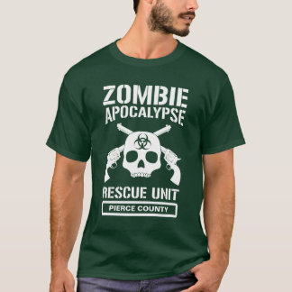 Zombie Apocalypse Rescue Unit T-Shirt