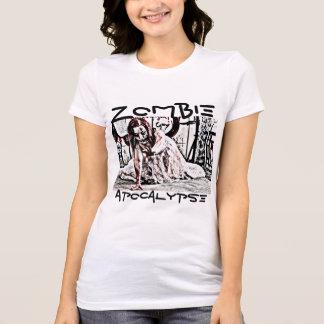 Zombie Apocalypse Shirt with Female Zombie