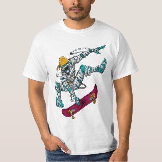 Zombie Apocalypse Skateboarder Men's T-Shirt