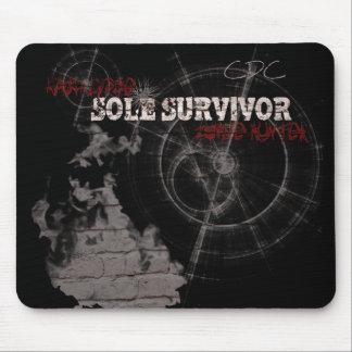 Zombie Apocalypse Sole Survivor Mouse Pad