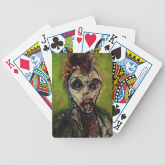 Zombie Apocolypse Art Bicycle Playing Cards