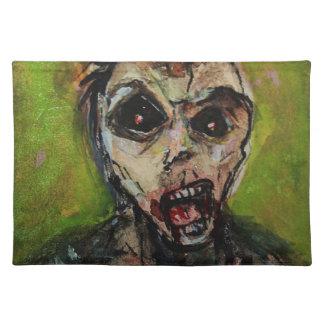 Zombie Apocolypse Art Placemat