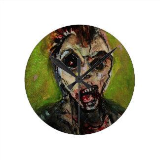 Zombie Apocolypse Art Wallclock