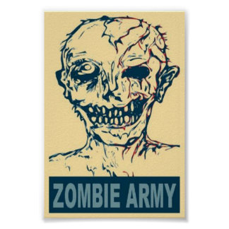Zombie Army Posters