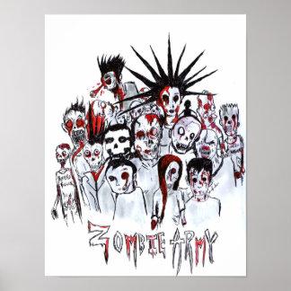 Zombie Army Print
