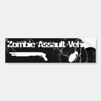Zombie Assault Vehicle Bumper Sticker