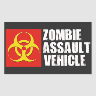 Zombie Assault Vehicle Sticker