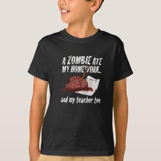 zombie ate my homework...Tshirt T-Shirt