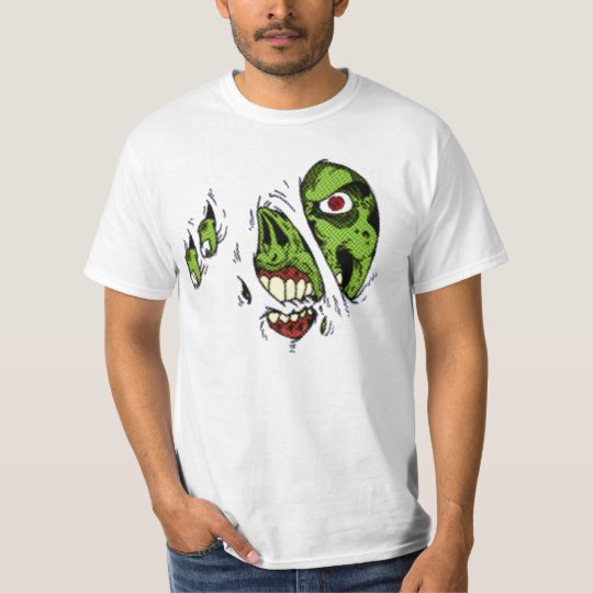 Zombie Ate My T-Shirt