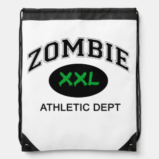 Zombie Athletic Bag Cinch Bag