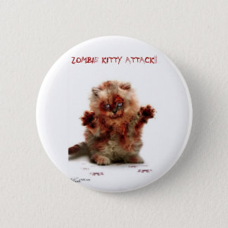Zombie attack 2 inch round button