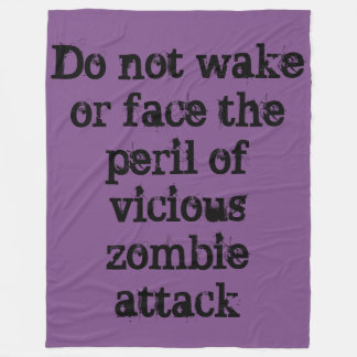 Zombie Attack Blanket