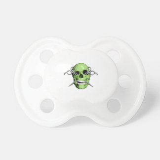Zombie Barber Baby Pacifier