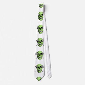 Zombie Barber Tie