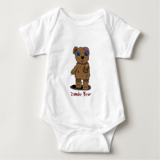 Zombie Bear Baby Bodysuit
