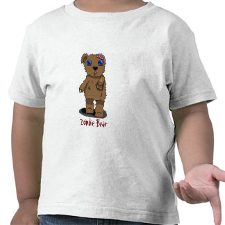 Zombie Bear for Toddlers! T-shirts