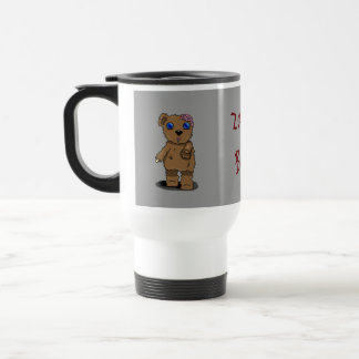 Zombie Bear Travel Mug