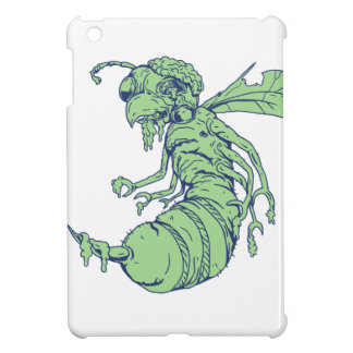 Zombie Bee Cartoon iPad Mini Case