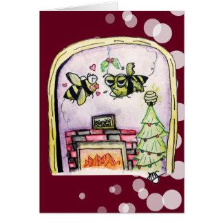 Zombie Bee/Zom-BEE Holidays Card