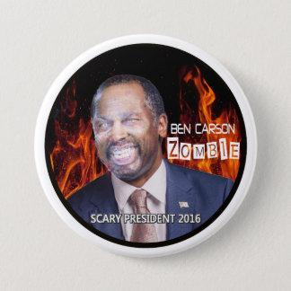 Zombie Ben Carson 2016 3 Inch Round Button
