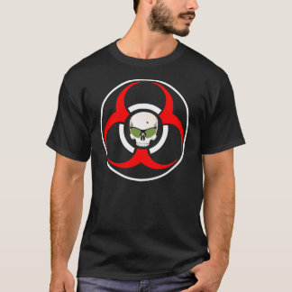 Zombie BioHazard Green Shades T-Shirt