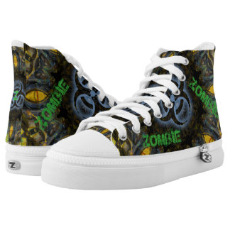 Zombie Biohazard High Tops